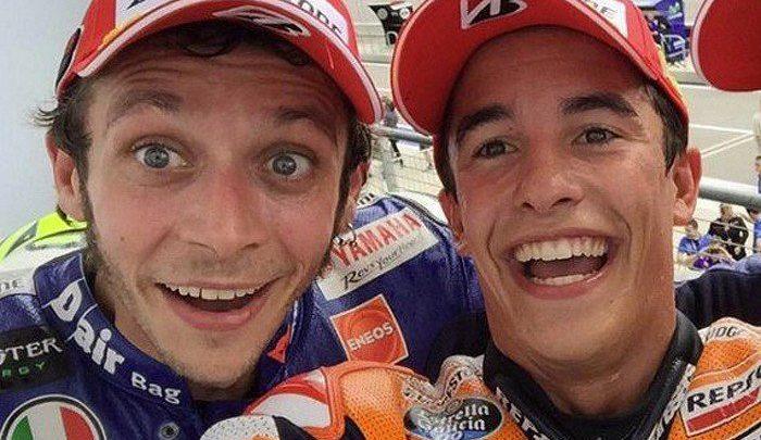Ángel Nieto pide a Rossi y Márquez que se den la mano
