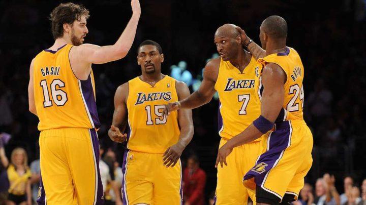 ¿Qué les pasa a los Lakers? Ya hay suplentes para el All-Star