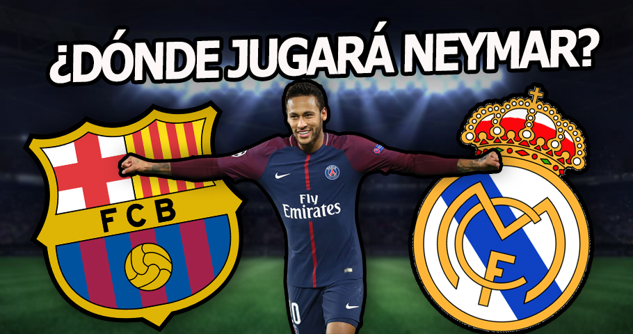 ¿Dónde jugará Neymar? ¿Dónde encajaría en Real Madrid y Barça?
