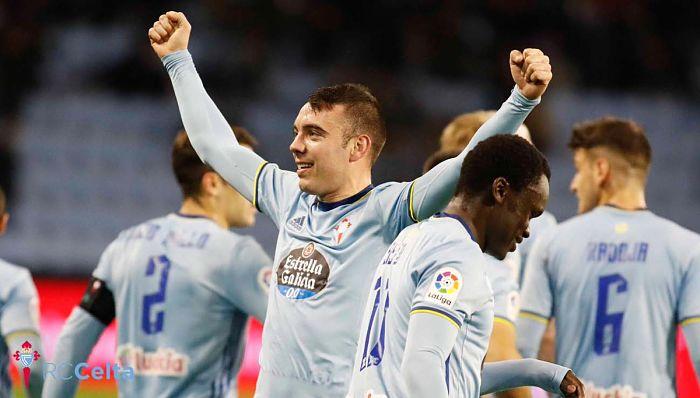 Iago Aspas brilla como nunca en el ataque del Celta de Vigo
