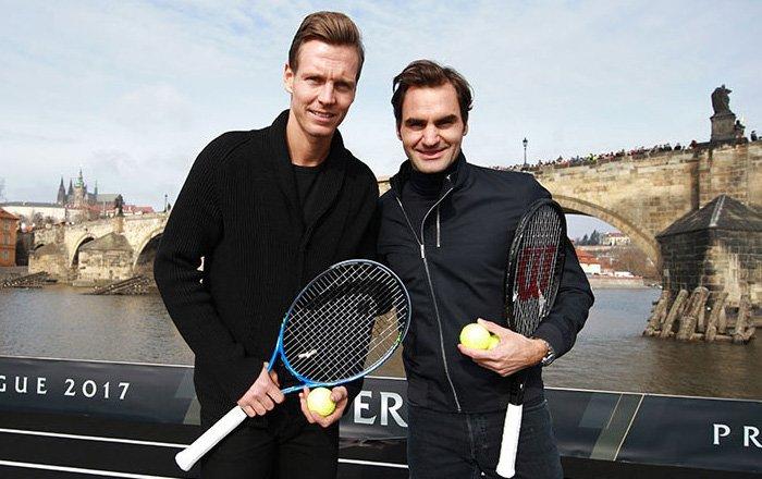 Federer: «Me gustaría jugar en dobles junto a Rafa Nadal»