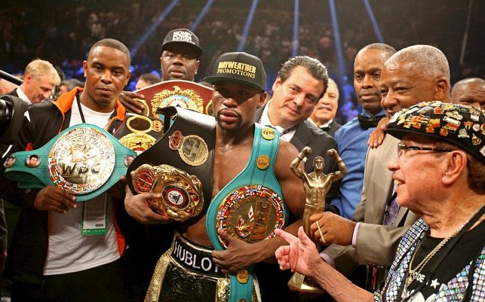 Mayweather: «En una pelea hice más dinero que McGregor en su carrera»