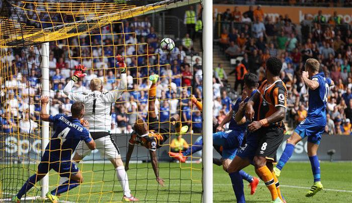 El Leicester empieza la defensa del título con derrota (2-1)