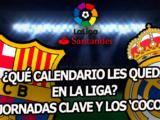 El calendario de Barcelona y Real Madrid en Liga tras el Clásico