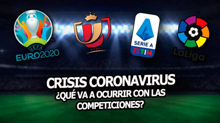 La crisis del Coronavirus llega a LaLiga Santander y la Champions