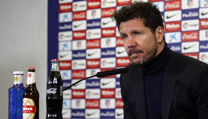 Simeone: «No imagino llegar a los 400 partidos de Luis Aragonés»