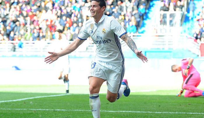 James: «Estoy siempre atento a las oportunidades de Zidane»
