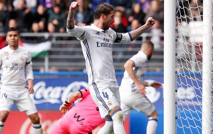 Sergio Ramos: «Es falso que dijese que solo Cristiano puede no correr»