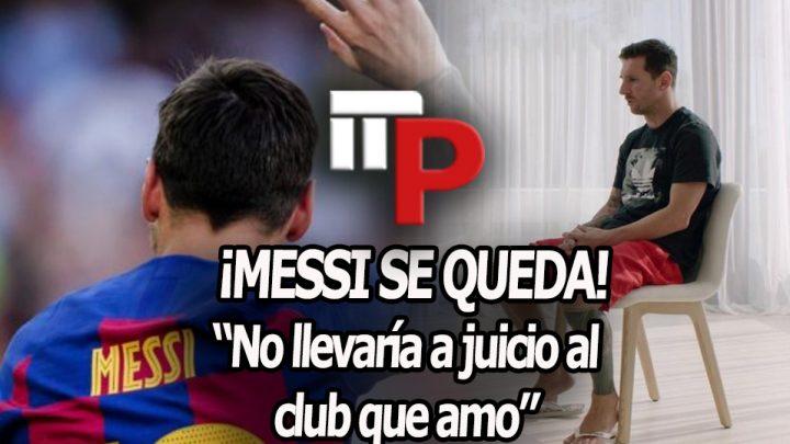 Messi se queda en el Barça, ¿y ahora qué?
