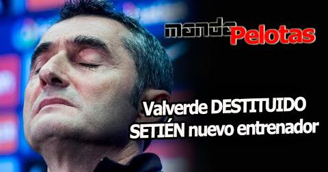 Quique Setién sustituye a Ernesto Valverde en el Barça