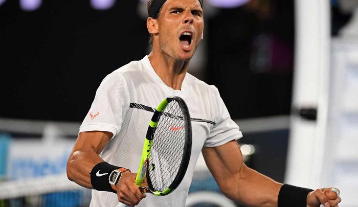 Rafa Nadal jugará la final del Open de Australia contra Federer